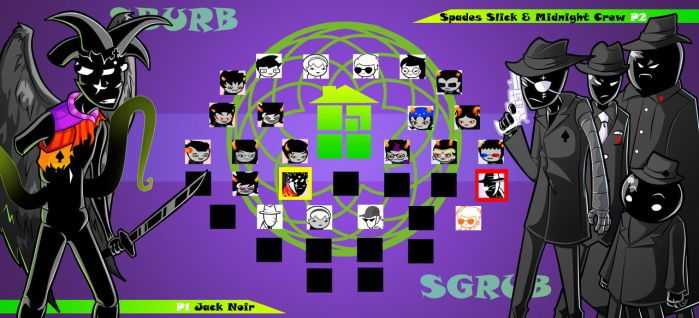 Homestuck The Game Jack Noir VS Midnight Crew by Video320