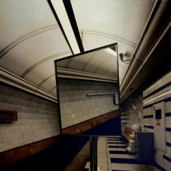 moscow subway by yellowish