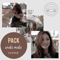 [PHOTOPACK #OO1] Weki Meki Icons by Snowiie0