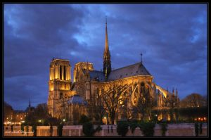 Notre Dame Cathedral by Haywood-Photography