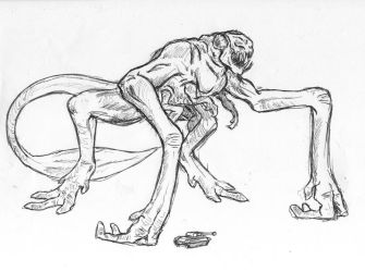 Cloverfield Monster 3 by arvalis