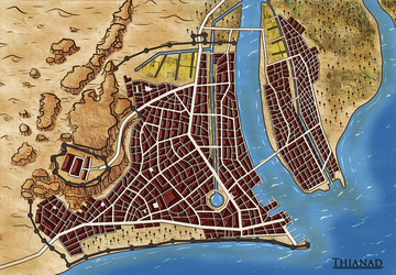 The City of Thianad - New Map by Tekila-onRice