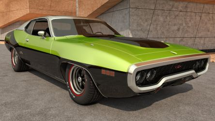 1971 Plymouth GTX by SamCurry