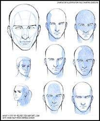 Face shading, basic planes by what-i-do-is-secret