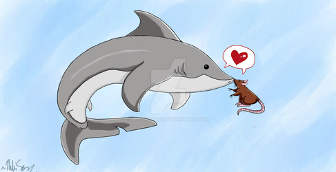 The Shark and The Rat by Witchcraze