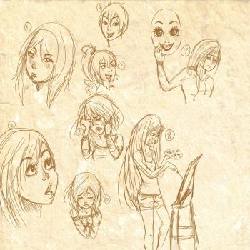 sketch expressions by jessi458