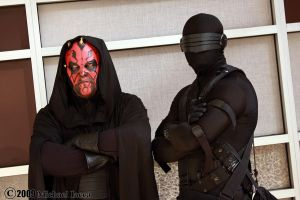 Darth Maul and Snake Eyes 1 by Insane-Pencil