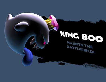 King Boo Haunts the Battlefield by LiquidFrogStudios