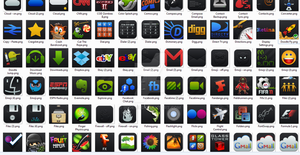 Black'Ups Icons for Android by iRide113