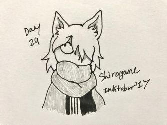 Inktober Day 29- Shirogane by Revenir-Ghoul