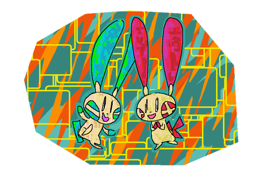 Plusle n Minun by WithoutInspiration