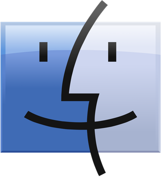 Finder Logo vector(remade) by WindyThePlaneh