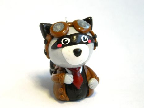 Raccoon the Pilot by Xiiilucky13