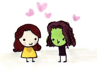 Rumbelle by Lily-Poulp