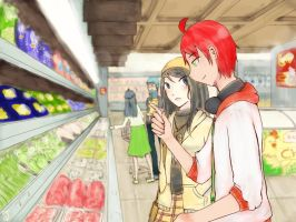TBH: Shopping for Groceries (totally not a date) by aaaaalima