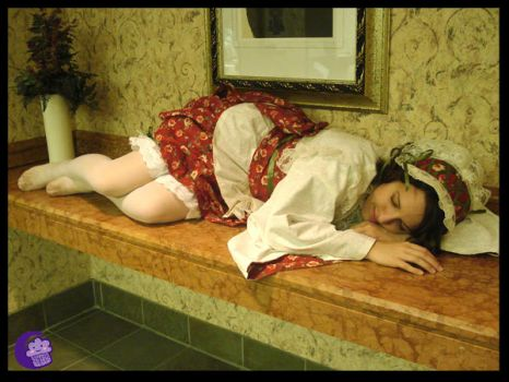 .:Maid Sleeping:. by cosplay-muffins