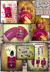 Mias and Elle Card Deck by StressedJenny