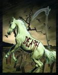 Death - 4th Horseman, back by 1purplepixie
