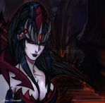 Takhisis anime by TioUsui