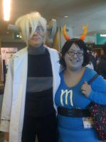 Stein - Soul Eater WITH Aranea - Homestuck by Mind-Like-A-Puzzle