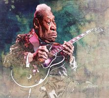 BB King by wooden-horse