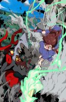 Little Witch Academia Boss Battle by OverlordJC