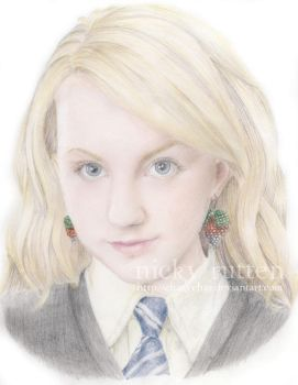 HP: Luna Lovegood OOTP by ChazyChaz
