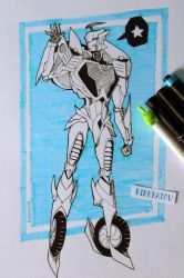 TF Blurr IDW - Traditional Art by Kirekatou