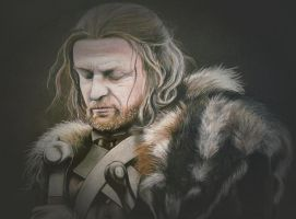 Ned Stark by ellthalion