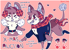 CTC15 DAY 12 | AUCTION - winterwonderland pup by powiibo