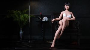 Asian Girl 4K by joelegecko