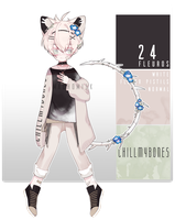 (CLOSED) AUCTION FLEUROS24 ADOPTABLE by machomilk