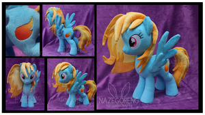 Cloudrunner OC Custom Plush by Nazegoreng