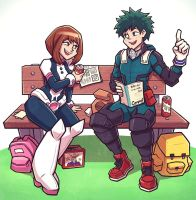 BNHA Lunchtime by GooBone