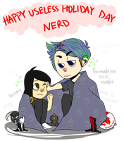 Happy V Day U Shit by Static-Thing