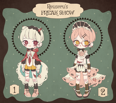 {CLOSED} Adoptable Auction 01 : Freak Baby by Reusoru