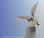 Hare - study 2 by Starsong-Studio
