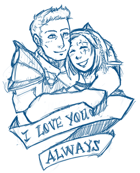 I love you Always by ninthDream
