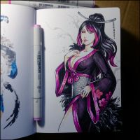Sketchbook - Riena by Candra