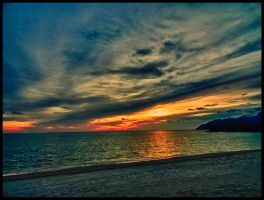 Sunset on the Andaman by Celestial22