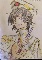 Lelouch Drawing by debyboo94