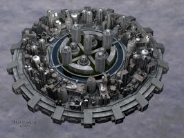 New Floating City WIP 6 by TLBKlaus