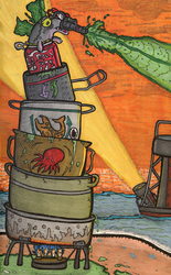 Stinger -Pots and Pans of the Fishpocalypse- by Faulken