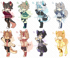 - AUCTION - Kemonomimi Babes [CLOSED] by Tomikoi