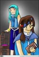 Licia and Shauni: Reflections by Shauni-chan