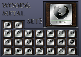 wood and metal   set 3 by xylomon