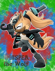 Whisper the wolf by VanessaSonica