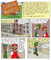 The Super Mario Story Ep. 1.1 by Atticus-W