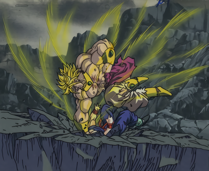Broly Cel Scan Dragon Ball Z by Trachta10