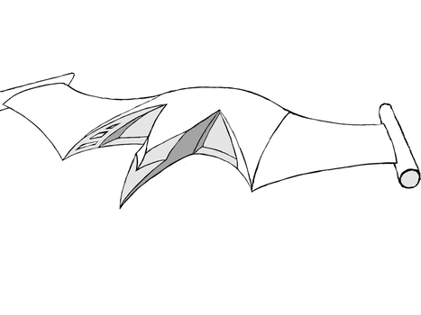 ship outline - first draft by fewofmany